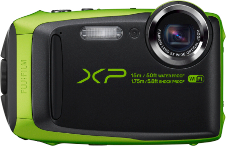 FinePix XP90 ライム