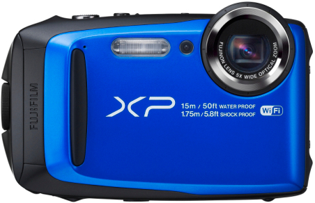 FinePix XP90 ブルー